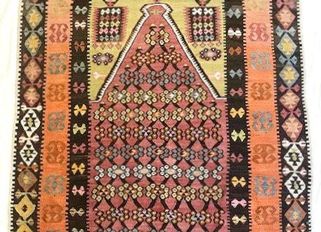 Vintage Prayer Kilim                                     50-60yrs