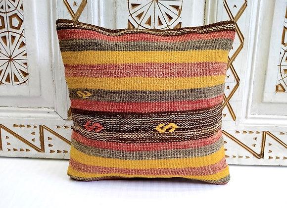 Boho Turkish Kilim Cushion - 40 x 40