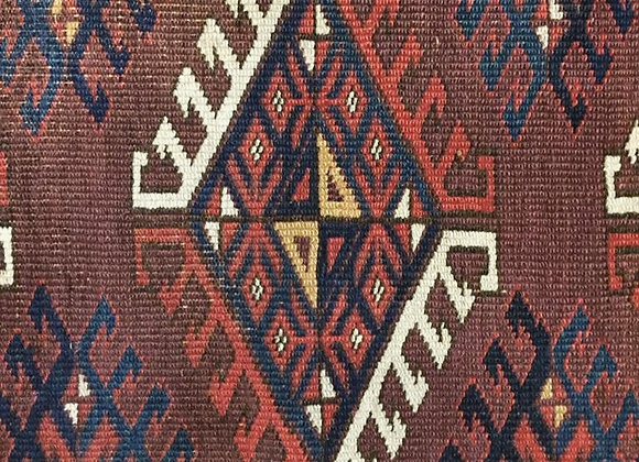 Antique Yomut Turkmen Carpet