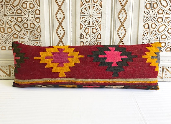 Vintage Kilim Pillow - Large Lumber 90x30cm