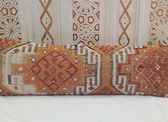 Vintage Turkish Boho Pillow        Long Lumber  90x30cm