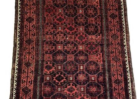 Fine Antique Beluch Rug