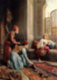 Traditonal-carpet-seller-ın palace