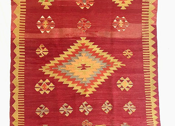 Vintage Cal Kilim                                                   Great Size !