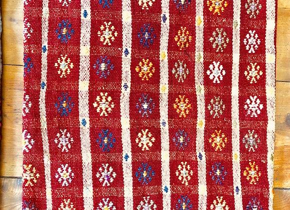VintageTurkish Kilim Pillow- 40 x 40 cm
