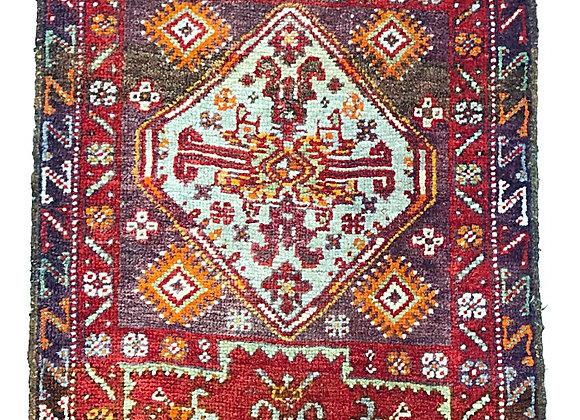Vintage Sivas Yastik Rug