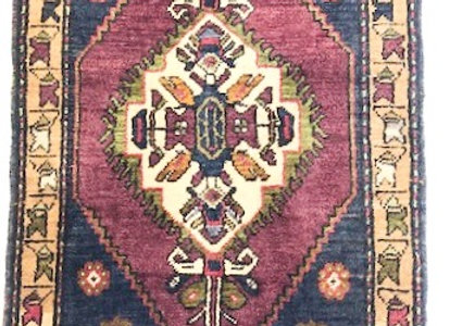 Vintage Dowry Village Rug / Turkey - One of a Kind !