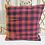 Thumbnail: Vintage Turkish Boho Pillow         Plaid 40x40cm