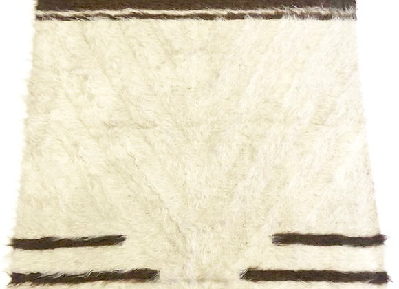 Kurdish Natural wool Kilim / Throw  - Turkey
