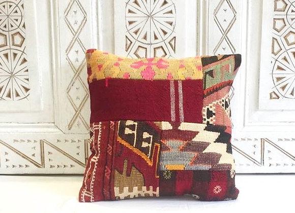 Patchwork Kilim Pillow  40x40cm