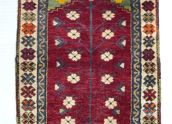 Vintage Afyon Prayer Carpet
