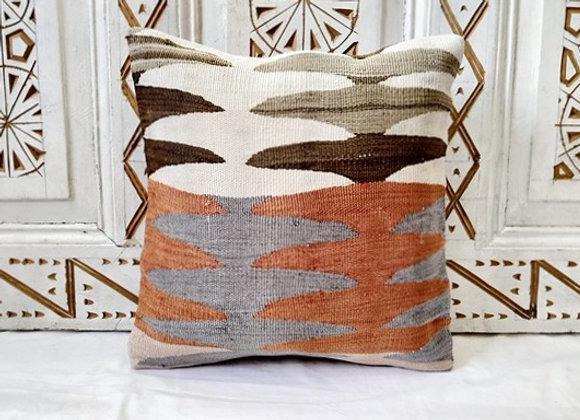 Vintage Turkish Boho Pillow      'Autumn Earth'