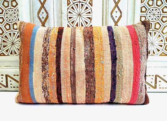 Vintage Kilim Pillow                                       40x65cm Sunset Stripe