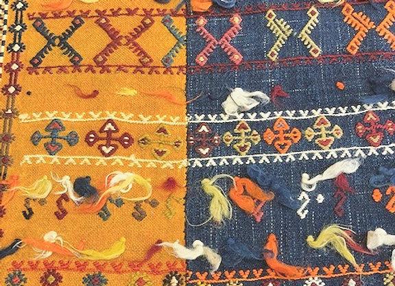 Vintage 4 panel Maras Kilim                     'Rare'