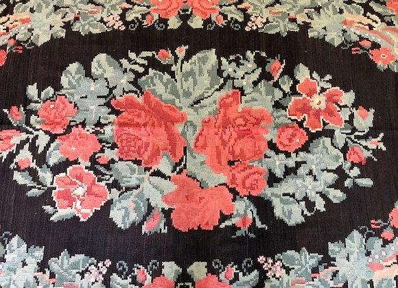 Vintage Moldovian Rose Kilim 3m x 1.65m