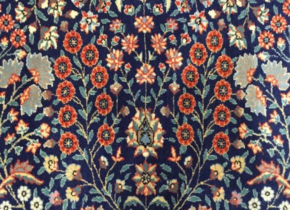Seven Mountain Flower Hereke Carpet