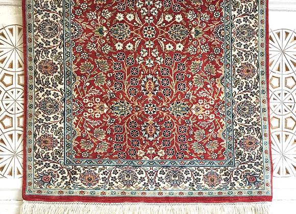 Mountain Flower Silk Carpet