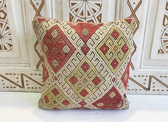 Vintage Turkish Boho Pillow          Garden Diamond