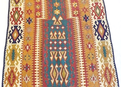 Fine Vintage Ezurum Kilim