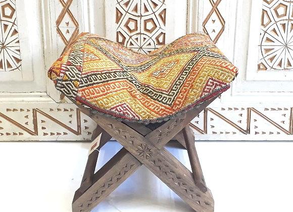 Handmade Boho Teahouse Stool - Nomadic