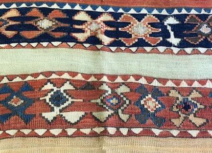 Vintage Kilim Runner - stunning natural dyes