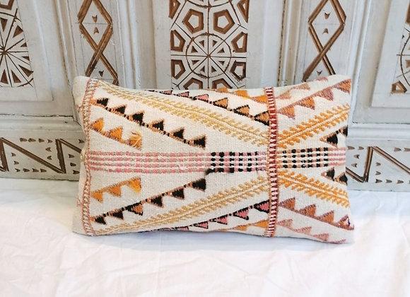 Vintage Turkish Boho Pillow                                 New Size 30  x 50 cm