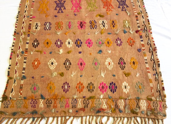 Nomadic Adana Tent Kilim - one of a kind !