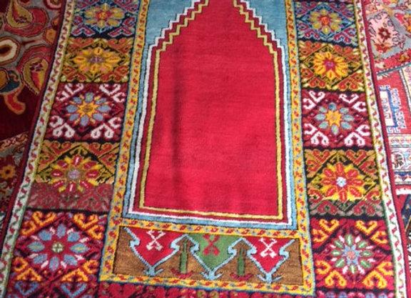 Vintage Konya Prayer Carpet