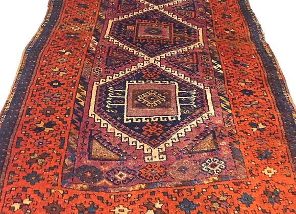 Antique Tribal Kurdish Rug