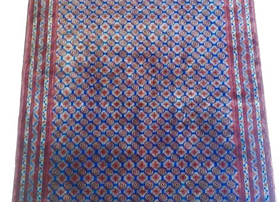 Beautiful Blue HocaRusnai Carpet - Super fine