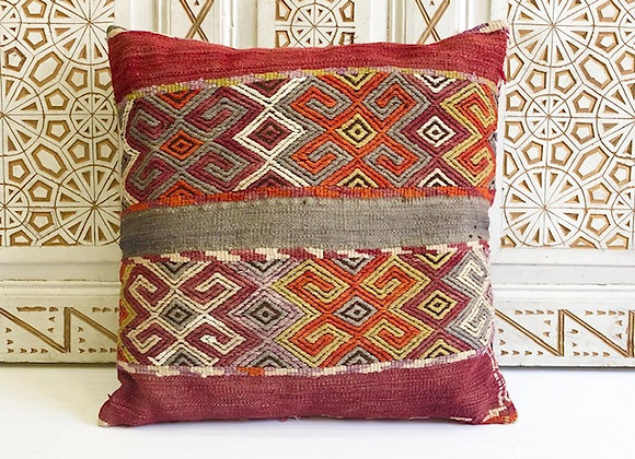 Vintage Kilim Pillow - Large