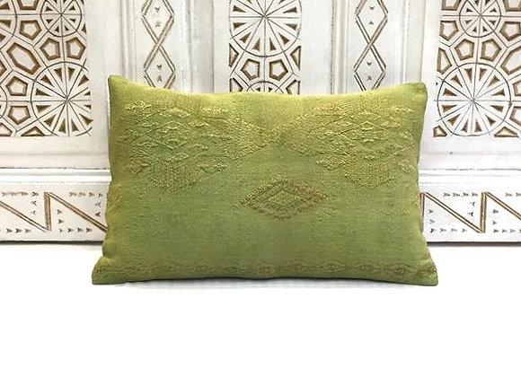 Pistachio 'overdye' Kilim Pillow 3