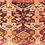 Thumbnail: Vintage Kurdish Rug with animal motifs