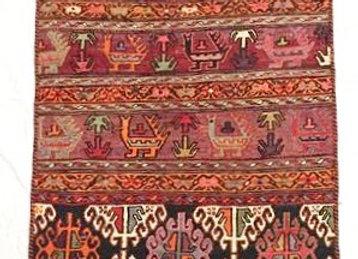 Vintage Sumak Kıilim  Shahseven Tribe / Iran