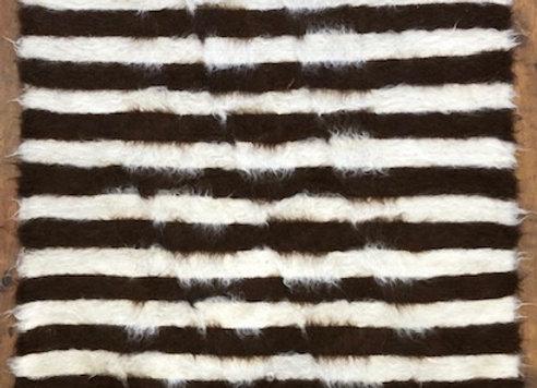 Kurdish Natural wool Kilim / Throw - Turkey