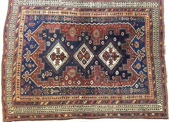 Antique Tribal Afsar Carpet