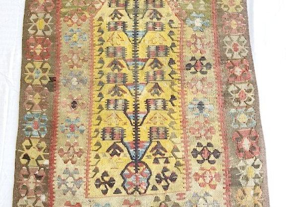 Antique Kula Prayer Kilim