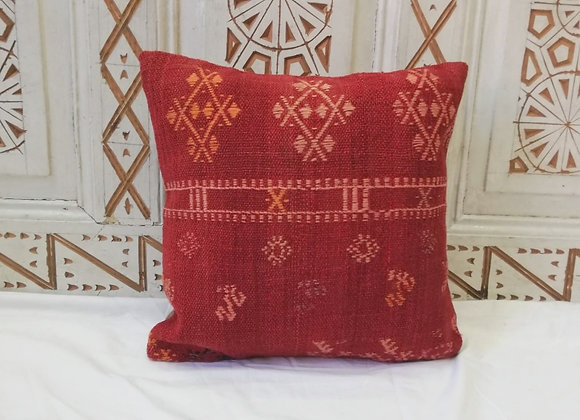 Vintage Kilim Pillow                         40 x 40cm               'Sienna'
