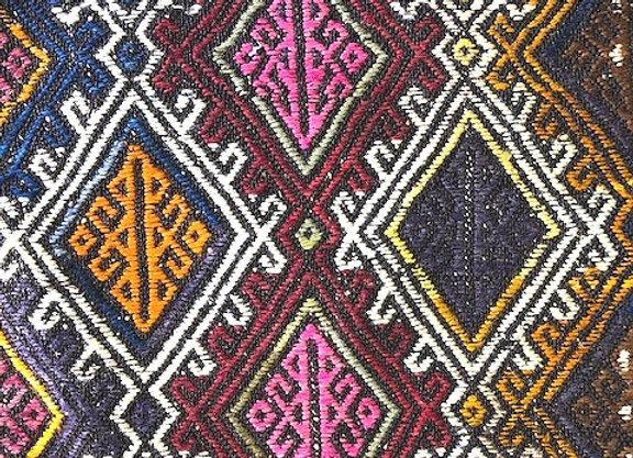 Vintage Konya cicim - Rustic + Nomadic