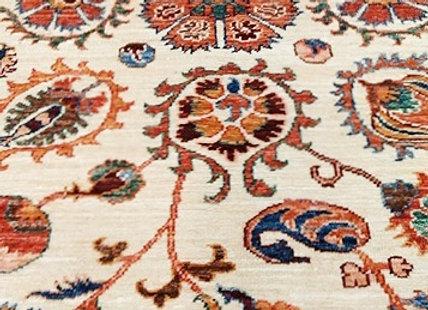 Contemporary Pomegranate Suzani Design Rug