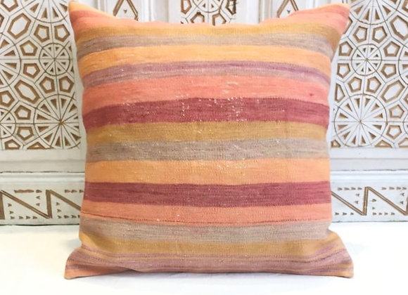 Vintage Kilim Pillow-                                             Large 65x65cm