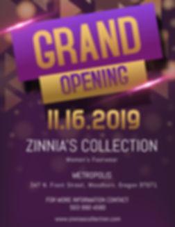 Copy of Fancy Grand Opening Flyer Templa