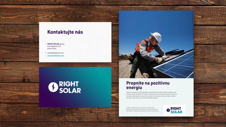Right Solar - print materials