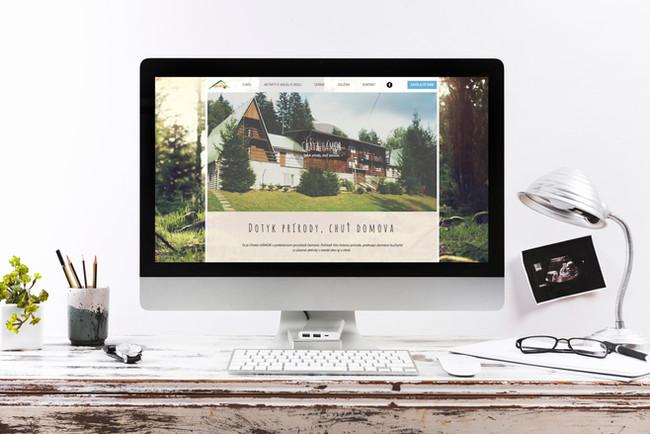 tvorba web stranky chata, hotel, rekreacne stredisko