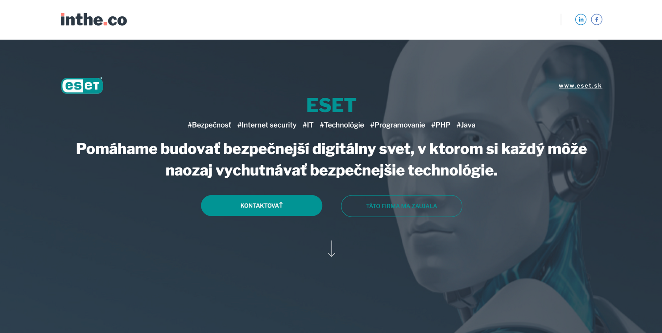 ESET - carreer website