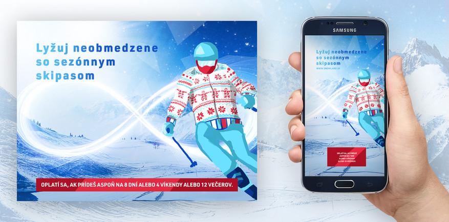 lyziarske stredisko kampan od www.youngheads.co (Snowland)