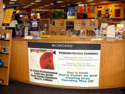 Borders Instore