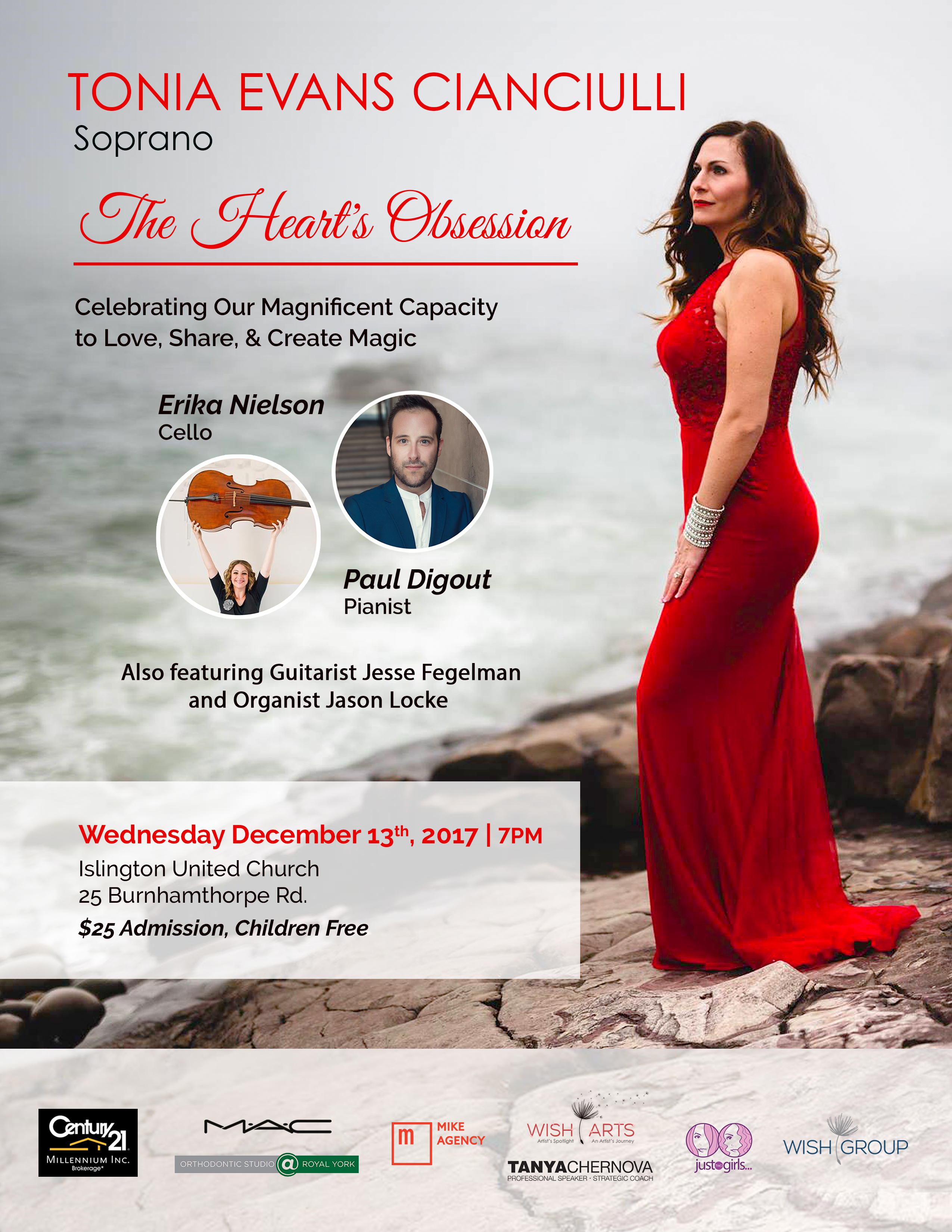 The Heart's Obsession Concert