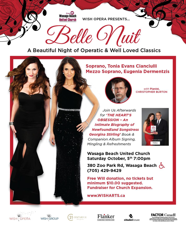 Belle Nuit Wasaga Beach Concert