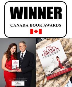 WINNER of Canada Book Awards